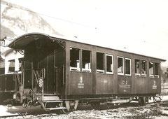MIB C3 617 ex Brünig C3 617 von 1899 um 1950