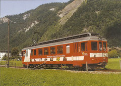 BDe 4/4 11 am 8. 8. 2005 in Meiringen