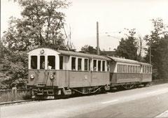CFe 4/4 17 + C4 40 + C zwischen Aarau Buchenhof und Distelberg 1962