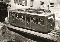 Triebwagen oberhalb der Talstation 1972