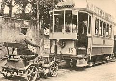 Ce 2/2 15 + ex X 321 um 1910