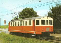 Triebwagen BDe 4/4 12