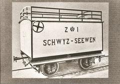 Postrollwagen Z 1