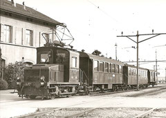 Ce 2/2 103, B2 6 + D2 31 in Oensingen am 14. 5. 1974