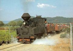 Dampflokomotive Taxus D n2t, Krauss 7349/1917 ehemalige DR 99 3311