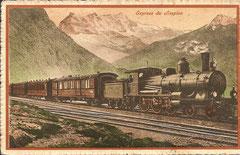 Express du Simplon, gelaufen 7. 11. 1919