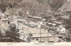 Goppenstein, Karte gelaufen 7. 7. 1909