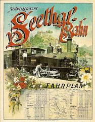 Plakat von 1903, Künstler unbekannt