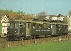 ABDe 4/4 11 in Bronschhofen am 21. 4. 1984