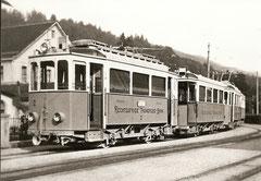 Strassenbahn in Thun um 1939
