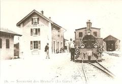 Bahnhof Les Brenets mit G 3/3 um 1909