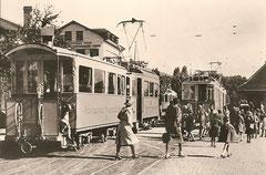 Strassenbahn in Thun 1940