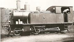 Mogullokomotive Ed 3/4 Nr. 53 der BSB (Inbetriebsetzung 1906/08)
