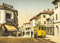 Ce 2/2 6 beim Schweizer Zoll in Chiasso um 1915