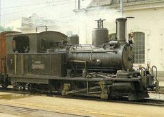 """Dampflokomotive HG 2/3 7 """"Breithorn"""" SLM, 23. 6. 1984"""