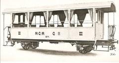 Sommerwagen C 1 (von SIG 1908)