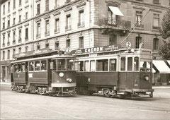 Ce 2/2 88 + Ce 2/2 105, rue Pierre Fatio, 1949
