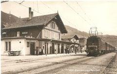 Zweisimmen Bahnhof