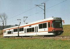 Niederflurzug am 30. 3. 1993 zwischen Gontenschwil und Zeziwil