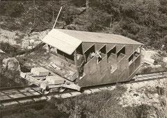 Wagen 2 bei der Bergstation am 15. 7. 1975