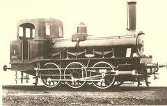 Lok E 3 Nr. Solothurn der Emmentalbahn gebaut 1874