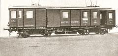 Gütertriebwagen CFe 4/4 11 (SWS/BBS 1910)