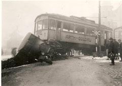 Unfall am 13. Dezember 1932 um 8.30 Uhr