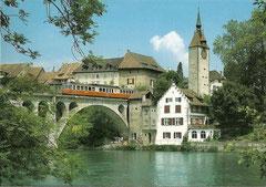 Brücke über die Reuss bei Bremgarten
