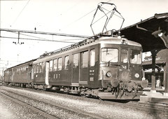CFe 4/4 146 fabrikneu 1954 in Solothurn