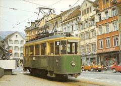 Be 2/2 6 im Juli 1973 in Altstätten