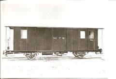 Gepäck- und Postwagen FZ 10