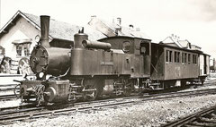 """G 2/2 4 """"Pouillerei"""" in Saignelégier am 10. 8. 1952"""