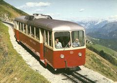 Zahradtriebwagen Bhm 2/4 Nr. 3 im September 1980