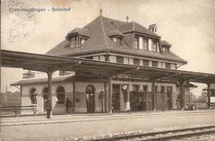Bahnhof Ostermundigen, gelaufen 22. 9. 1915
