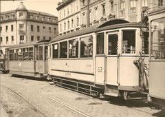 B3 53 am Aeschenplatz Basel, 1945