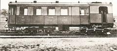 Dampfbetriebwagen CFm 2/4 1 von 1913