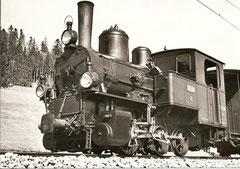 G 3/3 6 bei Ponts-de-Martel 1950