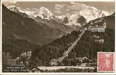 Karte gelaufen am 26. 8. 1936