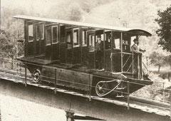 Wagen 1 in den ersten Betriebsjahren