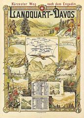 Plakat von 1890, Künstler unbekannt