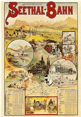 Plakat von 1898, Künstler unbekannt