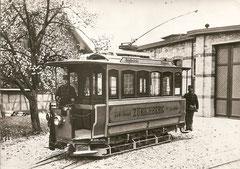 Depot Fluntern 1895