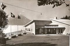 Station der Beatenbergbahn, gelaufen 4. 6. 1962