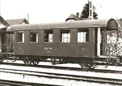 B 238 in Châtel-St-Denis im Mai 1960