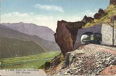 Tête Victoria, Karte gelaufen am 25. 11. 1921