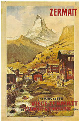 Plakat von A. Reckziegel von 1898