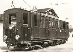 BCFe 1/4 41 in Aigle (1937)