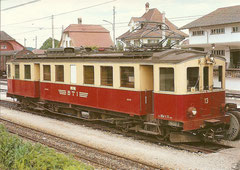 BDe 4/4 13 in Täuffelen