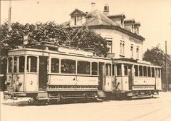 Ce 2/2 2 vor C 61 in Arlesheim um 1920