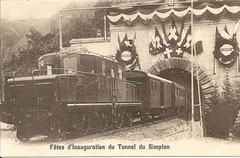 Tunneleröffnung 19. Mai 1906